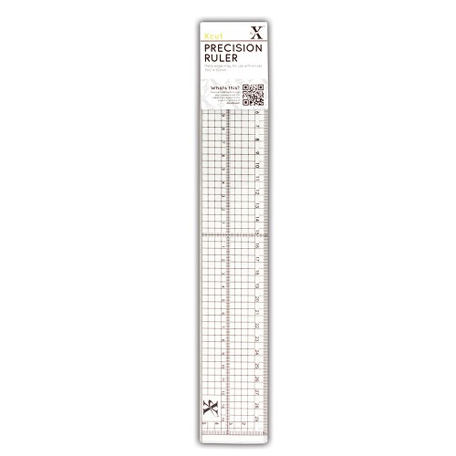Precision Ruler With Metal Edge Inlay 30cm