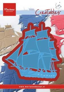 Marianne Design - Die - Creatables - Stencil Tiny`s tall ship