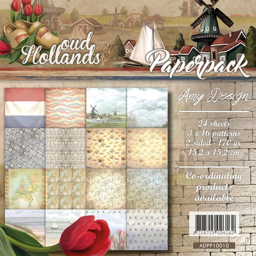 Amy Design - Paperpack - Oud Hollands