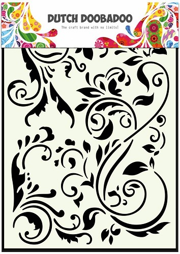 Dutch Doobadoo - Dutch Mask Art - Swirls