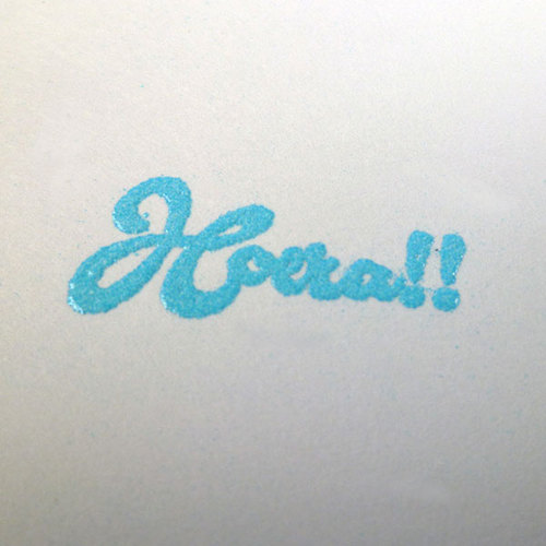 Embossing Powder - Baby blue
