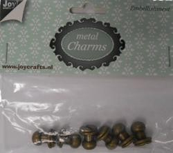 Joy!Crafts - Embellishment - Metal charms (6) knopen