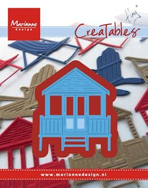 Marianne Design - Die - Creatables - stencil - Tiny`s beach house