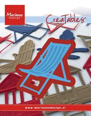 Marianne Design - Die - Creatables - stencil - Deck chair