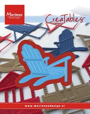 Marianne Design - Die - Creatables - stencil - Bear chair