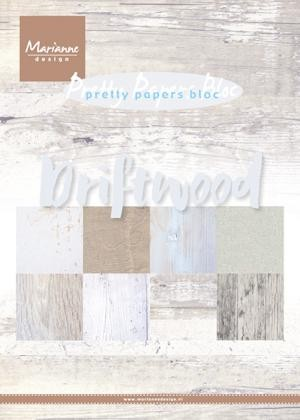 Marianne Design - Pretty Papers Bloc - Driftwood
