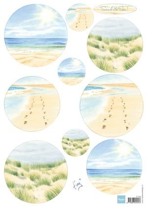 Marianne Design - Knipvel - Tiny`s sand & sea 1