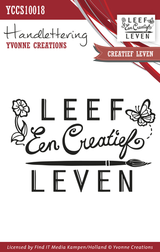 Yvonne Creations - Clearstamp - Handlettering - Creatief leven