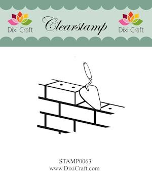 Dixi Craft - Clearstamp - Bricks