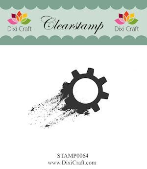 Dixi Craft - Clearstamp - Gear