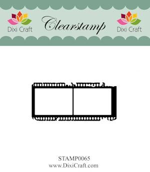 Dixi Craft - Clearstamp - Filmstrip