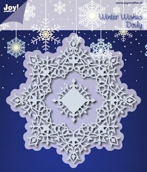 Joy!Crafts - Cutting & Embossing - Winter wishes doily