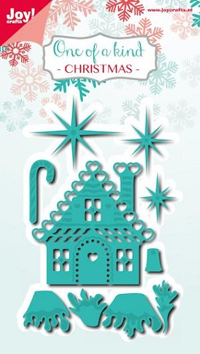 Joy!Crafts - Cutting & Embossing - kerstset (10) huisje