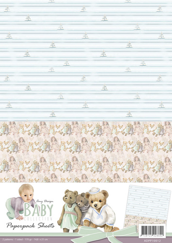 Amy Design - Backgroundsheets - Baby Collection - 2