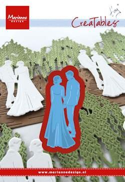 Marianne Design - Die - Creatables - Tiny`s wedding