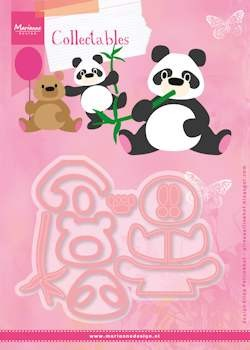 Marianne Design - Die - Collectables - Set Eline`s panda & bear