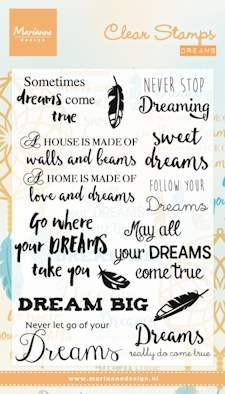 Marianne Design - Clearstamp - Dreams