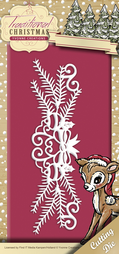 Yvonne Creations - Die - Traditional Christmas - Holiday Garland