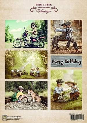 Nellie Snellen - Vintage 2 - Birthday boys