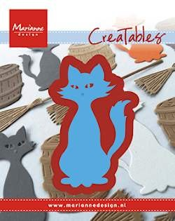 Marianne Design - Die - Creatables - Stencil kitty