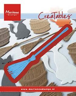 Marianne Design - Die - Creatables - Stencil broom