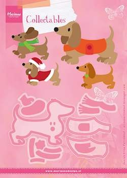 Marianne Design - Die - Collectables - set Eline`s Dachshund