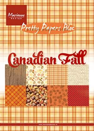 Marianne Design - Pretty Papers Bloc - Canadian fall