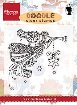 Marianne Design - Clearstamp - Doodle angel