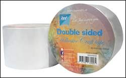 Joy!Crafts - Dubbelzijdig tape 65 mm x 15 mtr