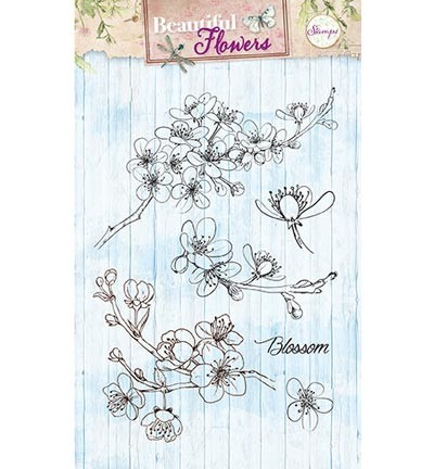 StudioLight -  Clearstamp - Stamps Beautiful Flowers