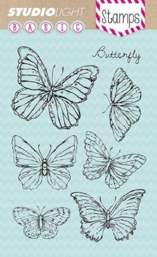 Studio Light - Clearstamp - Butterfly
