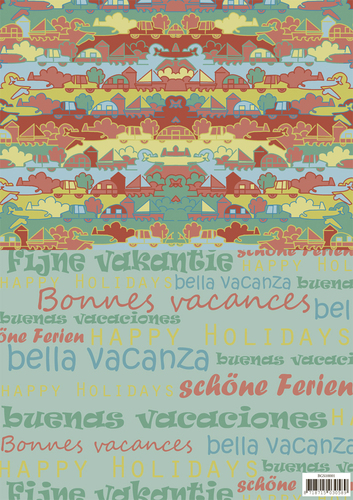 Yvonne Creations - Backgroundsheets - Summer Holiday