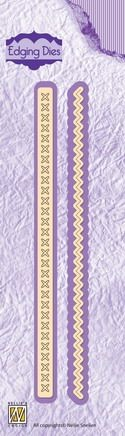 Nellie Snellen - Edging Dies - Decoration borders set 3