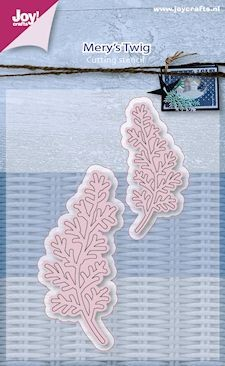 Joy!Crafts - Cutting & Embossing - stencil Mery`s takjes 2st