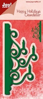 Joy!Crafts - Cutting & Embossing - stencil randmal kandelaar
