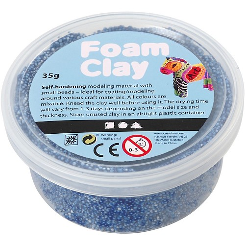 Foam Clay - Blue 35 Gr