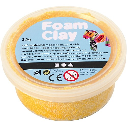 Foam Clay - Yellow 35 Gr