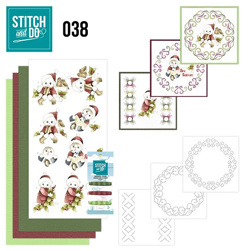 Card Deco - Stitch and Do - Borduurset 38 - Christmas Children