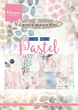 Marianne Design - Pretty Papers Bloc - mixed media pastels