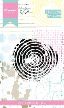 Marianne Design - Clearstamp - Texture circles