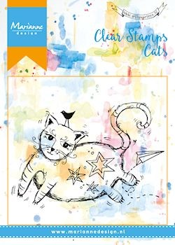 Marianne Design - Clearstamp - Fat cat