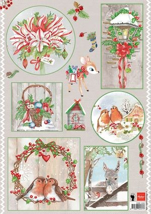 Marianne Design - Knipvel - Els country christmas 1