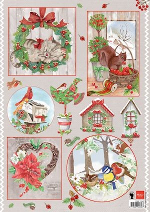 Marianne Design - Knipvel - Els country christmas 2