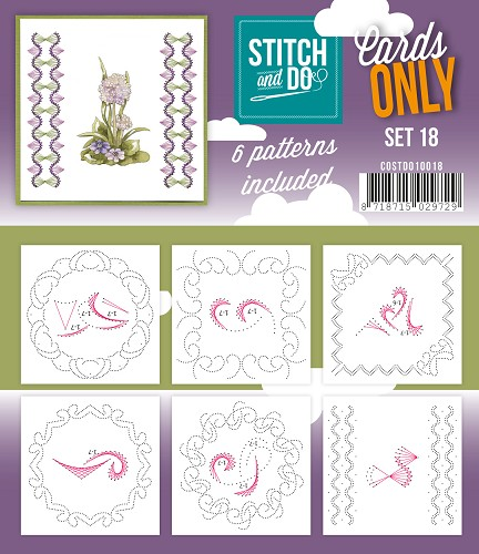 Card Deco - Stitch & Do - Cards only - Set 18