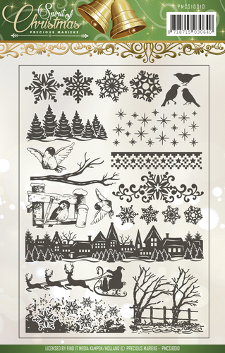 Precious Marieke - Clearstamp - Spirit of Christmas