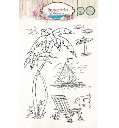 Studio Light - Clearstamp - Romantic Summer