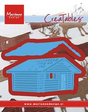 Marianne Design - Die - Creatables - stencil Tiny`s log cabin