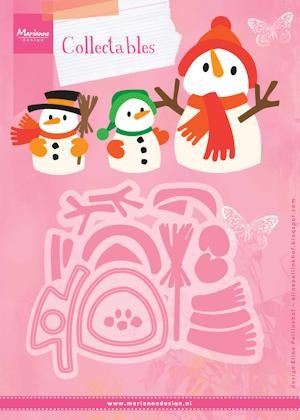 Marianne Design - Die - Collectables - set Eline`s snowman