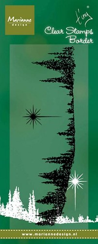 Marianne Design - Clearstamp - Tiny`s pine trees