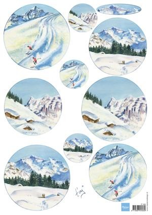 Marianne Design - Knipvel - Tiny`s snow mountains
